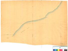 Map of Matilda Bay and Lennards Head by A. Hillman, Asst Surveyor [undated, Tally No. 005137].