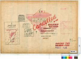 Badjebup Sheet 1 [Tally No. 503695].