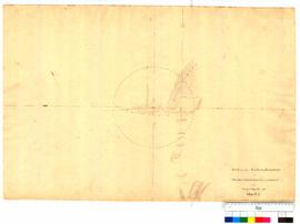 Survey of the northern boundary of Thomas Peel's grant near Clarence by George Smythe, sheet 2 [Tally No. 005234].