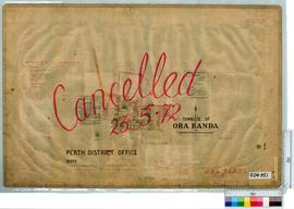 Ora Banda Sheet 1 [Tally No. 504951].