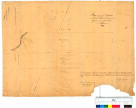 Plan showing the division of W. & A. Trimmer's grant on the Avon River by A. Hillman [Tally No. 005243].