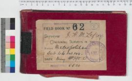 J.H.M. Lefroy Field Book No. 62