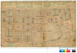 Collie 155. Collie - shows area between Atkinson, Throssell, Brunswick and Crampton Streets and the Collie River [scale: 20 chains to 1 inch].