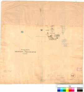 A. Hillman - route from Kelmscott to the Williams River (Bottom portion of Exploration Plan 52).