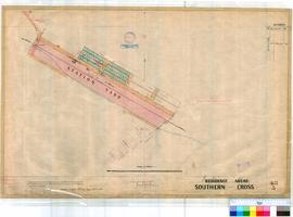 Southern Cross 48/3. Plan of Southern Cross showing Station Yard and Lots bounded by Capella, Veg...