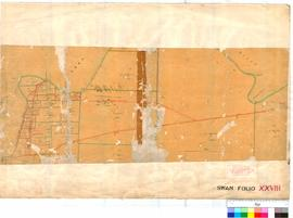 Folio XXVIII. Plan showing locations between Preston Point and Alfred Cove (undated).