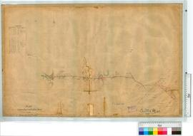 Canning Roads showing road from Blackboy Swamp to the Lower Canning Bridge by H.S. Ranford, Field...
