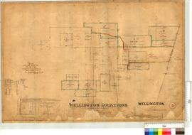 Wellington locations surveyed by Robert Austin, 1857