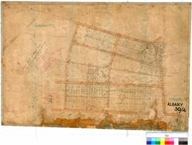 Albany 30/4. Sketch plan of Albany Town Lots S82-S89, S173, S174, S309 to S315, S320-S324, S90 (S...