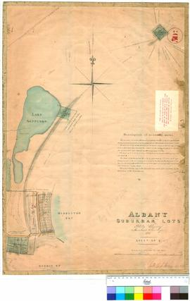 Albany 30G. Albany Suburban Lots, Philip Chauncy, Assistant Surveyor, 1851. Sheet No 2 (Original ...