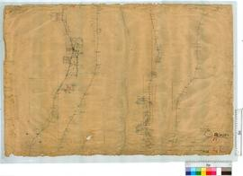 Plan of road from Swan Bridge to Welbing, Sheet 3 [scale: 20 chains to an inch].
