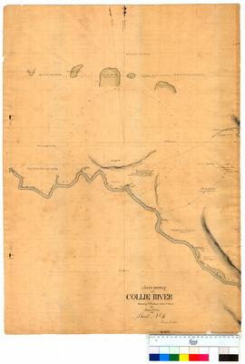 Chain survey of the Collie River by Thomas Watson, sheet 5 [Tally No. 005150].