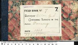 Field book no. 7. R.S. Allan . Canning (F.B. Rp1, p44)