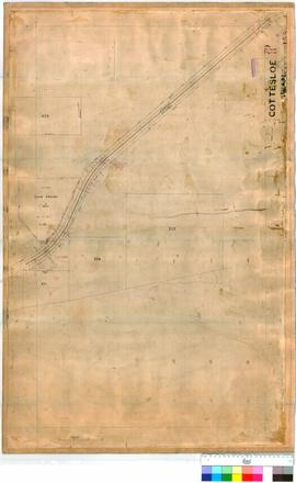 Cottesloe 79/8. Cottesloe of Swan - shows railway to Show Ground [scale: 5 chains to 1 inch].