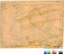 Albany 30/6. Sketch plan of Subdivision of Albany, Sub Lots P5, 11, P15 to 20, P22, 23, P25, 26 (...