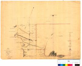 Plan showing allotments marked out on York Reserve by Thomas Watson, sheet 2 [Tally No. 005253].