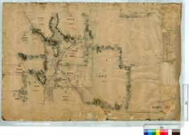 Location by Forrest and Angove 1886 (Part of area surrounding Perth Albany Road and Bannister River) [undated, scale: 40 chains to an inch].