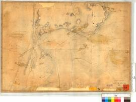 Locations between Rous Head and Perth (Rocky Bay) by G. Smythe (later additions) [scale: 6 chains...