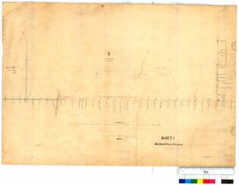 Roads south-east of Northam, sheet 1, by C.C. Hunt [Tally No. 005231].