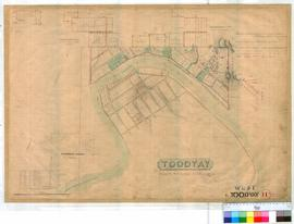Toodyay West 11A. Plan of West Toodyay showing Avon River and surrounding Lots between North Stre...