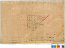 Carnarvon 16C/3. Carnarvon Townsite - plan of suburban lots. T. Beasley. Amended A. H. Richter 19...