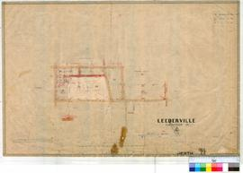 Perth 18/44. Suburban Perth. Plan showing Subdivision of Reserve 884, Correspondece file 1895/321...