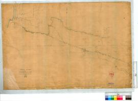 Post Road from Bunbury to Kojonup by A.C. Gregory [scale: 1 1/2 miles to an inch].