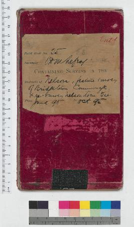 J.H.M. Lefroy Field Book No. 25