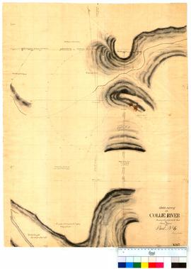 Chain survey of the Collie River by Thomas Watson, sheet 6 [Tally No. 005151].