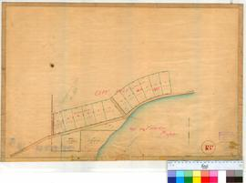 Perth 18R. Copy of Plan 18I showing Suburban Lots 126-138 in Perth Townsite by W. Phelps, 1859 - See Plan 18I for details.