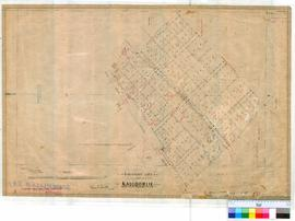 Somerville 231. Plan of Lots 35-130 near Kalgoorlie bounded by Emin, Wingate, Broadwood, Hunter &...