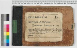 A. Hillman - Fieldbook containing surveys in the districts (Swan) at Fremantle, Cockburn Sounding...