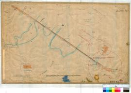 Perth 18/40. Plan showing Perth Causeway over River Swan by W.J. Crowther Fieldbook 5, 1898 [scale: 2 chains to an inch, Tally No. 005787].