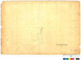 Survey of Blackwood River, Sheet 3 by A. Hillman [Tally No. 005005].