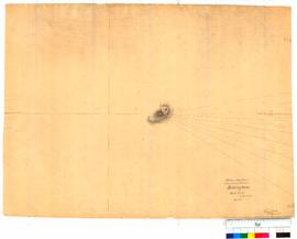 Position of Mount Brown by bearing taken on the survey of Rockingham, sheet 5, by T. Watson [Tally No. 005236].