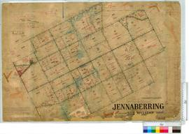 Jennaberring Subdivision by J.H.M. Lefroy Lots 1-38, c. 1906 [scale: 20 chains to an inch].
