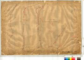 Road Marradong - Bannister by A.J. Wells. Fieldbooks 35 & 36, Sheet 2 [scale: 10 chains to an inch].