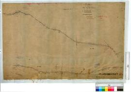 Survey of road from King River to Location 732 by W.H. Angove, Fieldbook 59 [scale: 20 chains to ...