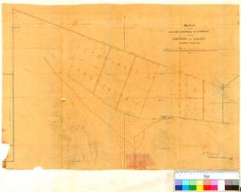 Sketch of the 20 acre suburban allotments in the Albany Townsite as marked by F T Gregory, Jan. 1...
