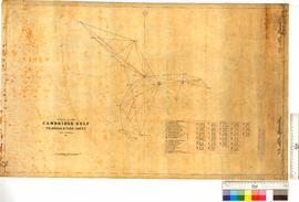 Cambridge Gulf. Triangulation Sheet, HMS Rambler.