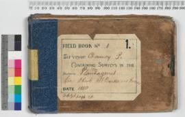 P.L.S. Chauncy Field Book No. 1