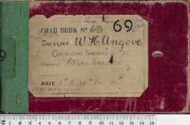 W.H. Angove Field Book No. 69
