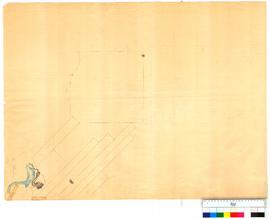 Untitled map, unfinished by Chauncy (shows part of Swan River near Guildford Road) [undated, Tall...