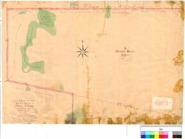 Folio XVIII. Plan showing area to the north of Cruise's [Cruse's] Mill [Folio XIV - see...