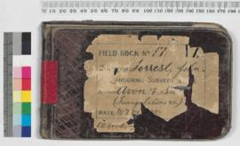 Field Book No. 17. Surveyor - Forrest, John. Containing surveys in the districts - Avon and Swan ...