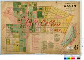 Wagin Sheet 6 [Tally No. 505208].