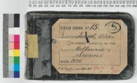 A. Forrest Field Book No 15