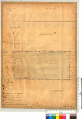 Leschenault Location 45 for Thomas Little, 380 acres by T.W. Thompson [scale: 6 chains to an inch].