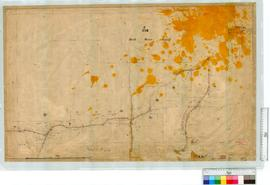 Location 1774 (Perth Water Supply area) Road by A.J. Lewis, Fieldbooks 6 & 8 [sale: 10 chains to an inch].