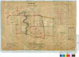 Albany locations by Hugh Russell. Plan of Oldfields locations 47-49 and 52-57 [scale: 20 chains t...
